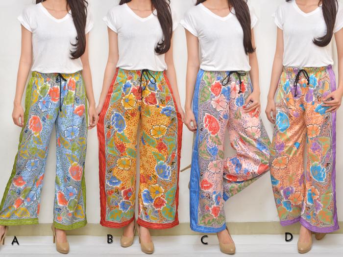 Jual Celana Kulot Batik Satin Silk - Sunny's Store | Tokopedia