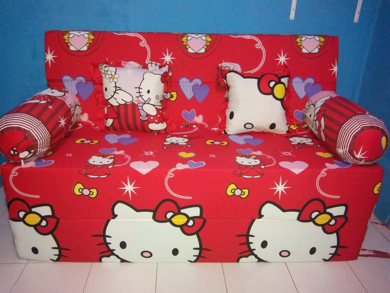 Jual Sofa Bed Lipat Kasur Tidur Merk Inoac Bantal Cinta Busa Baju Batik Nopin Shop Di Tokopedia
