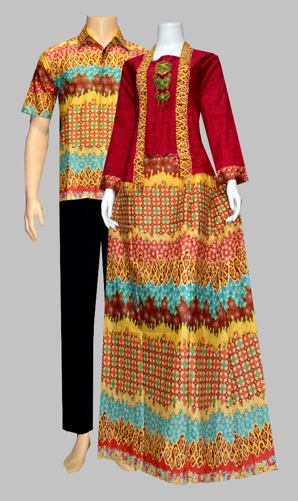 Jual Batik couple batik sarimbit kebaya rok blus pasangan seragam ...