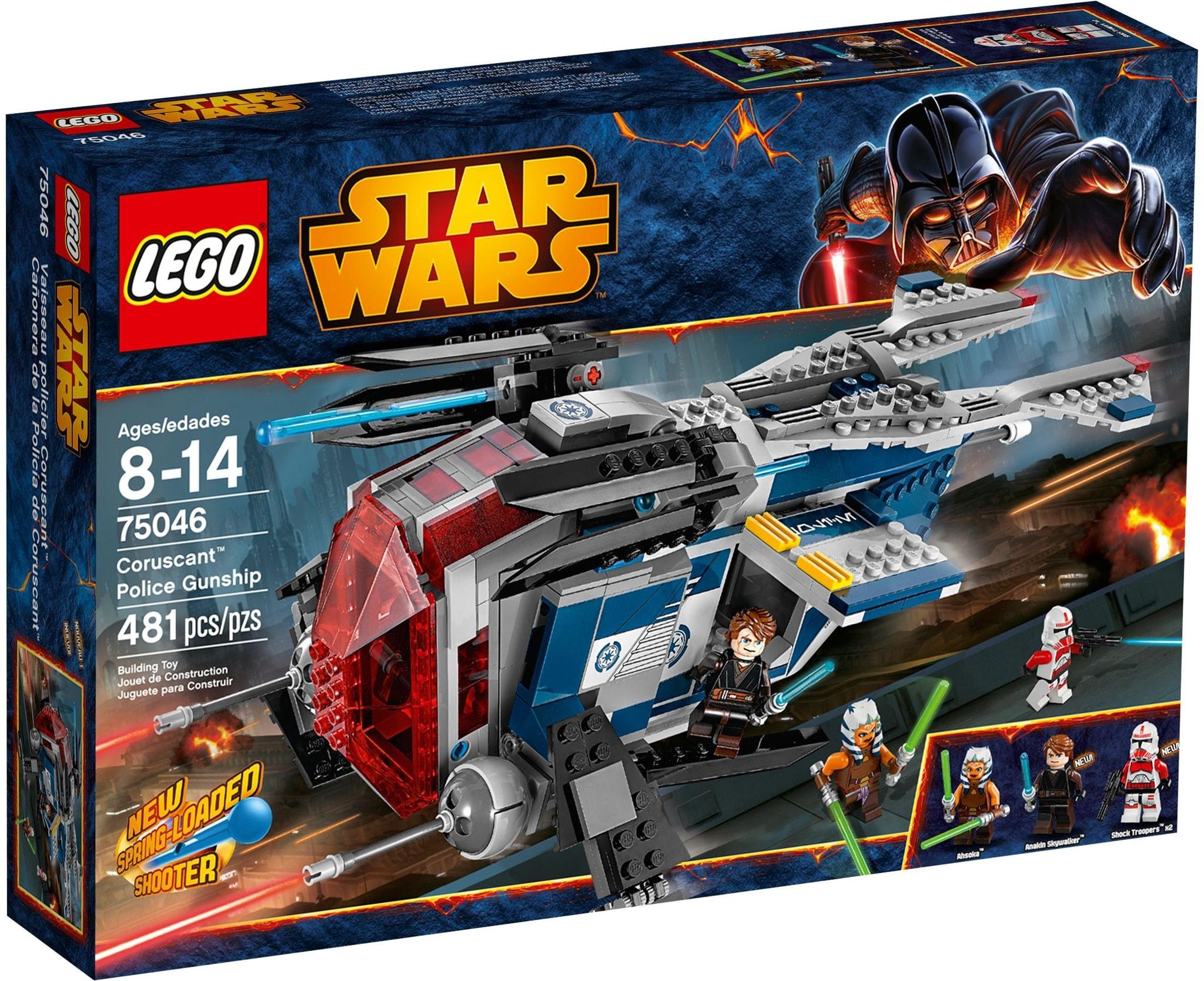 LEGO 75046 - Star Wars - Coruscant Police Gunship