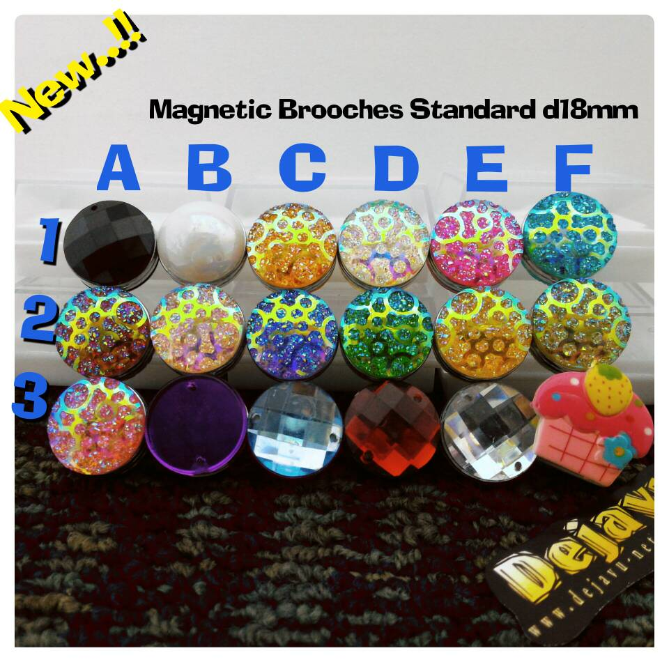 Bros Bross Pin Hijab Jilbab Kerudung Magnet Magnit Eksklusif Mewah