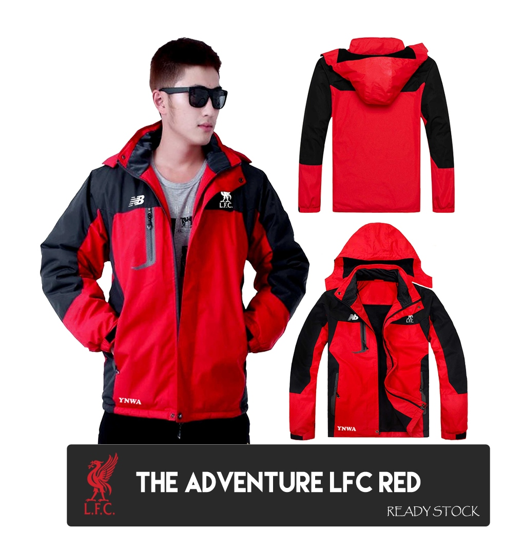 Jaket Gunung Outdoor Manchester United Red Waterproof Adventure Ter Terlaris Jt 103 The North Face 1622 Import Source Jual Lfc