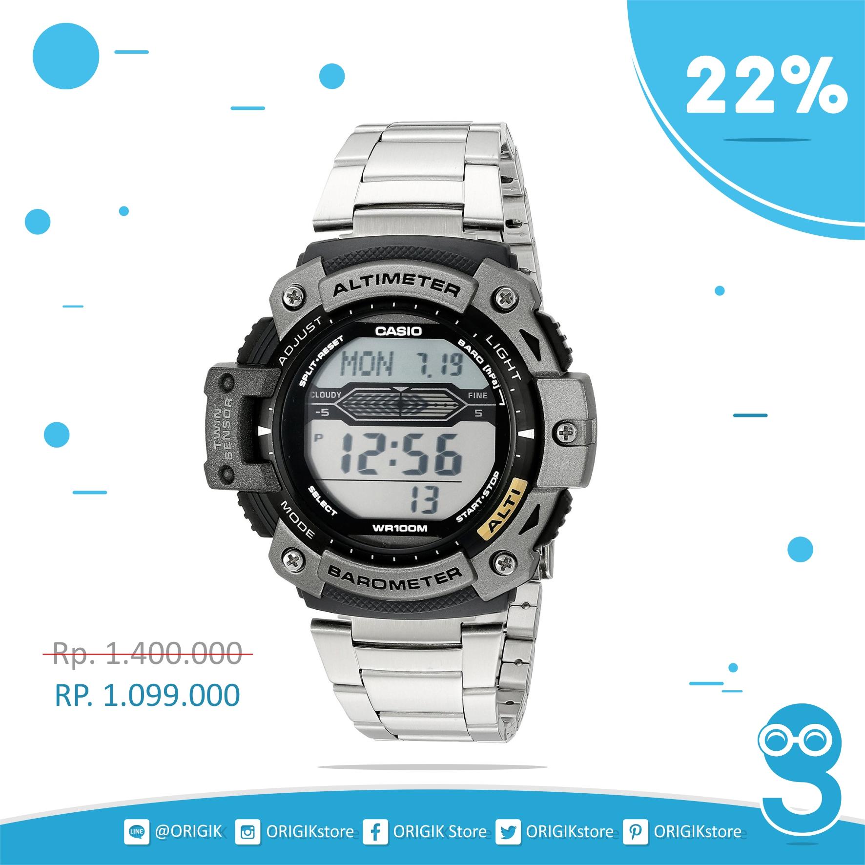 Jual Jam Tangan Casio SGW 300HD