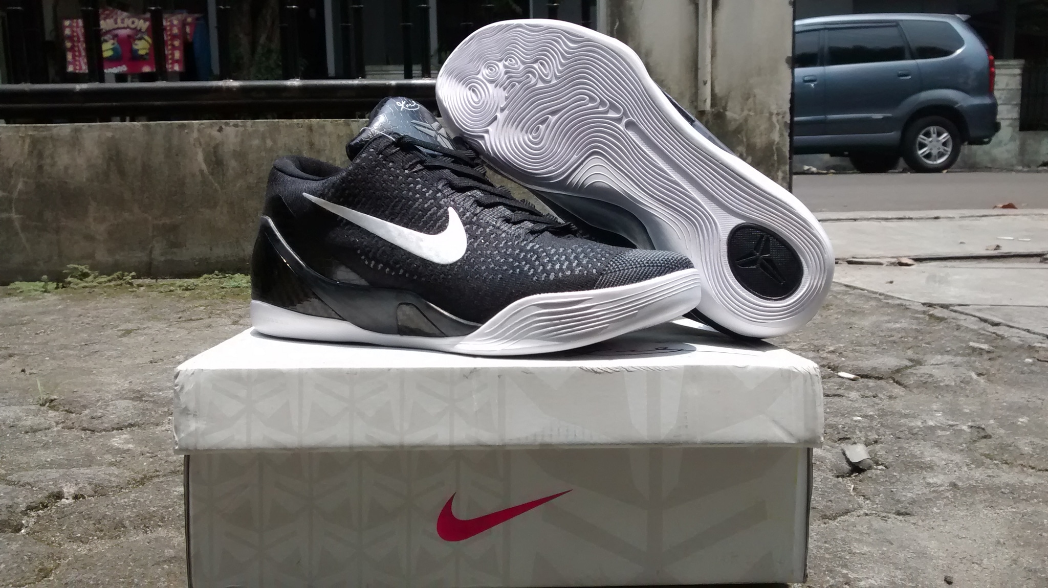 outlet store 00fa4 f67ad cheap jual sepatu basket kobe 9 elite flyknit low black cwpstore tokopedia  0cbdc 770a6