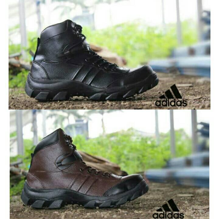 Jual sepatu adidas boots safety ujung besi pria tracking - spokatstore ... fc64cd60cf