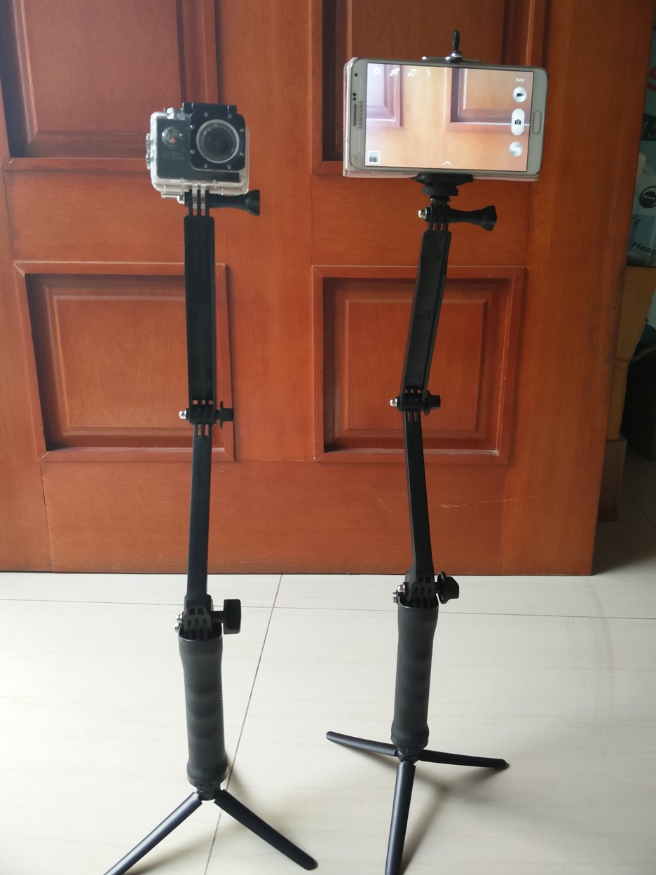 Jual Monopod Tropod Tongsis 3 Way Holder U Cocok Utk Hp Action In 1 Multifungsi Camera Digitalworld Tokopedia