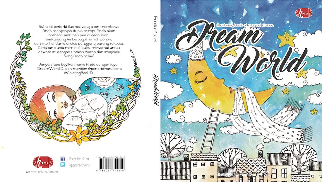 Jual Coloring Book Dream World