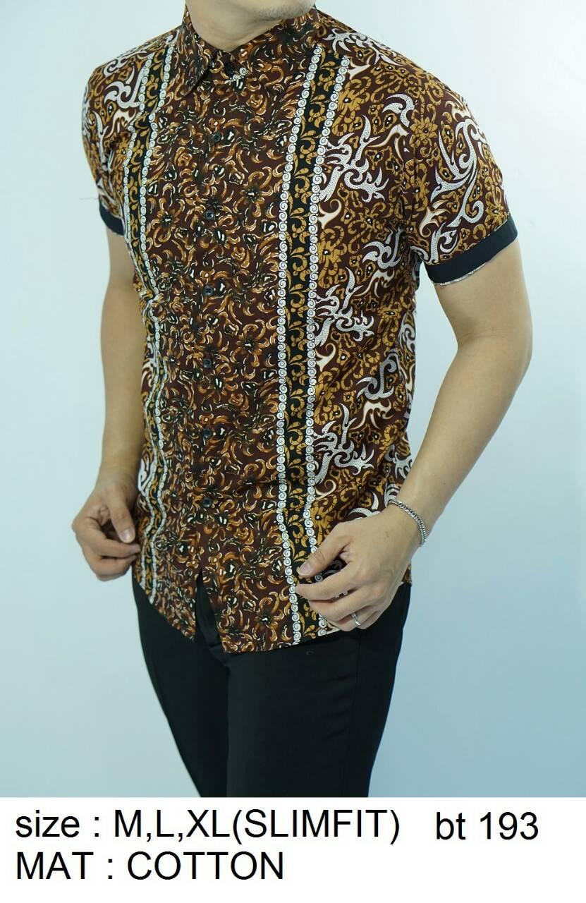 Model Jahit Batik Pria