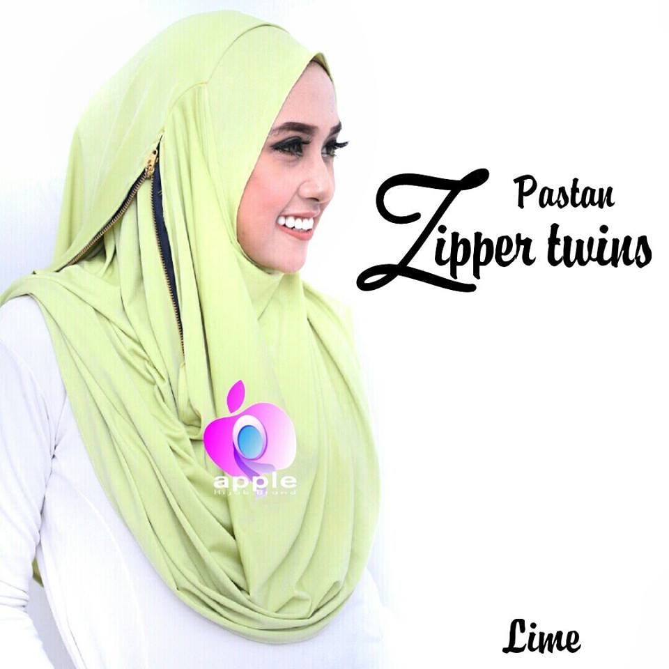 PASTAN ZIPPER TWINS by Apple Hijab