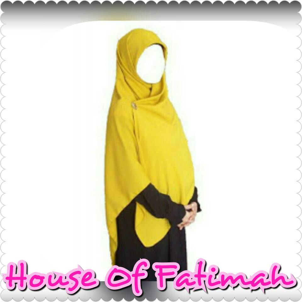 khimar/ hijab/ jilbab syari bahan velvet