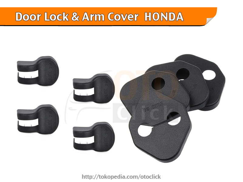 Car Door Lock dan Arm Cover Mobil Honda BRV HRV Brio Mobilio CRV Jazz