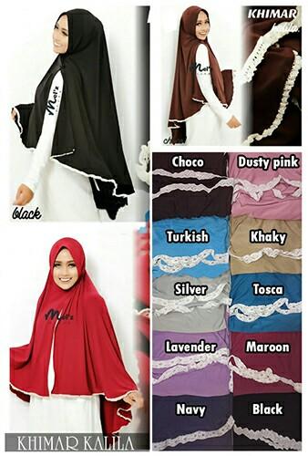 Hijab/Jilbab Khimar Kalila