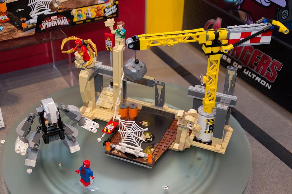 Jual LEGO 76037 RHINO AND SANDMAN SUPERVILLAIN TEAM ...
