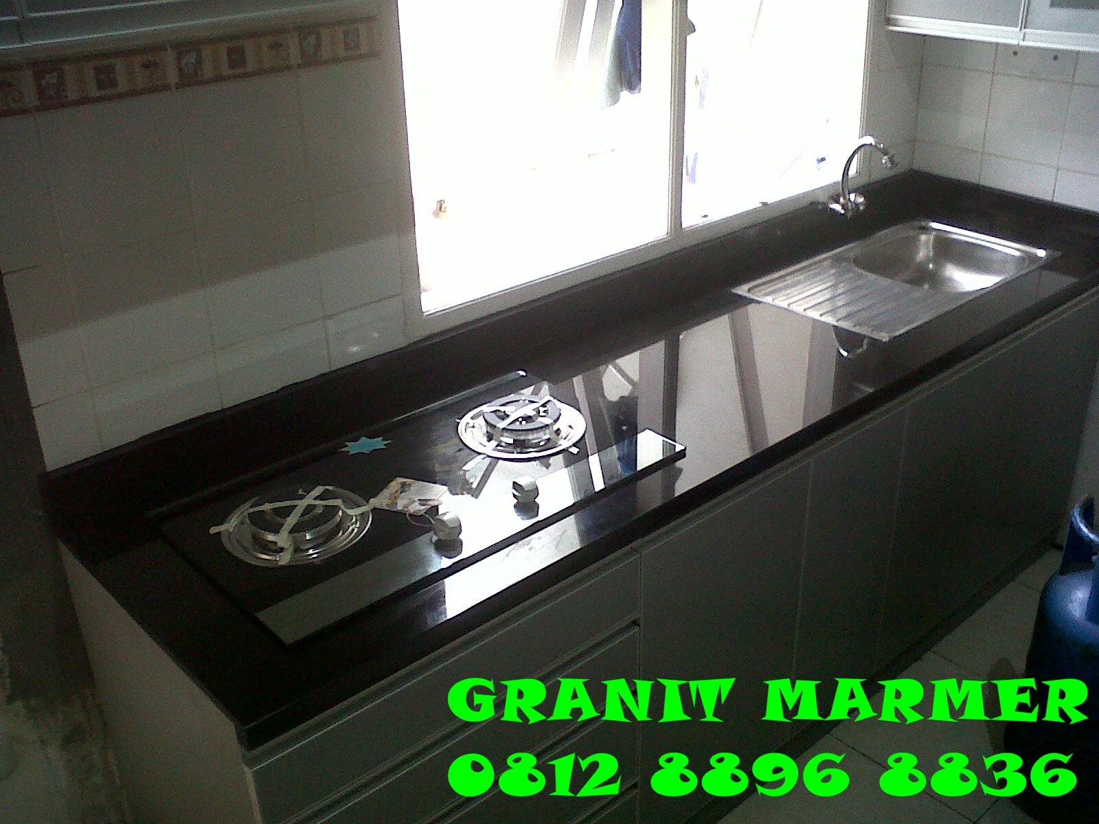 Jual Top Table Kitchen Set Granit Nero Absolute Granit Marmer