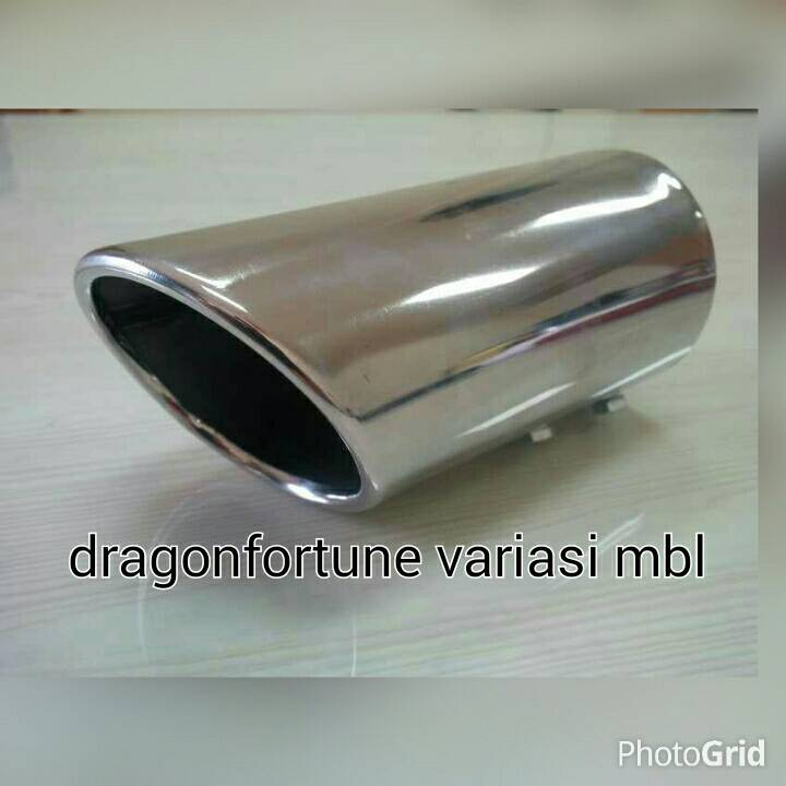 Muffler extention/buntut knalpot miring 60cm grand new jazz 2014