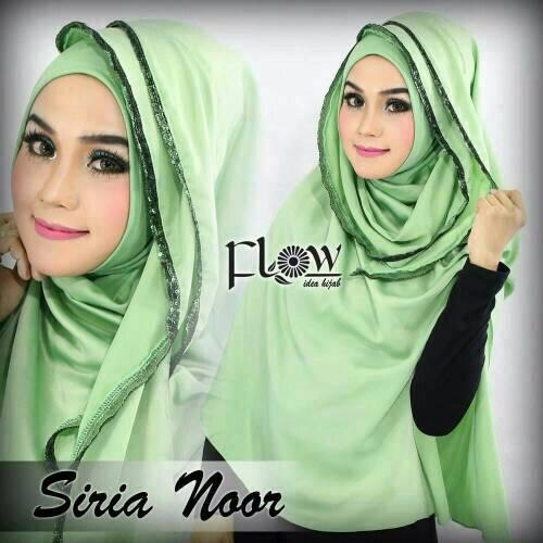 siria noor flow/flow hijab/siria/jilbab instan/jilbab murah