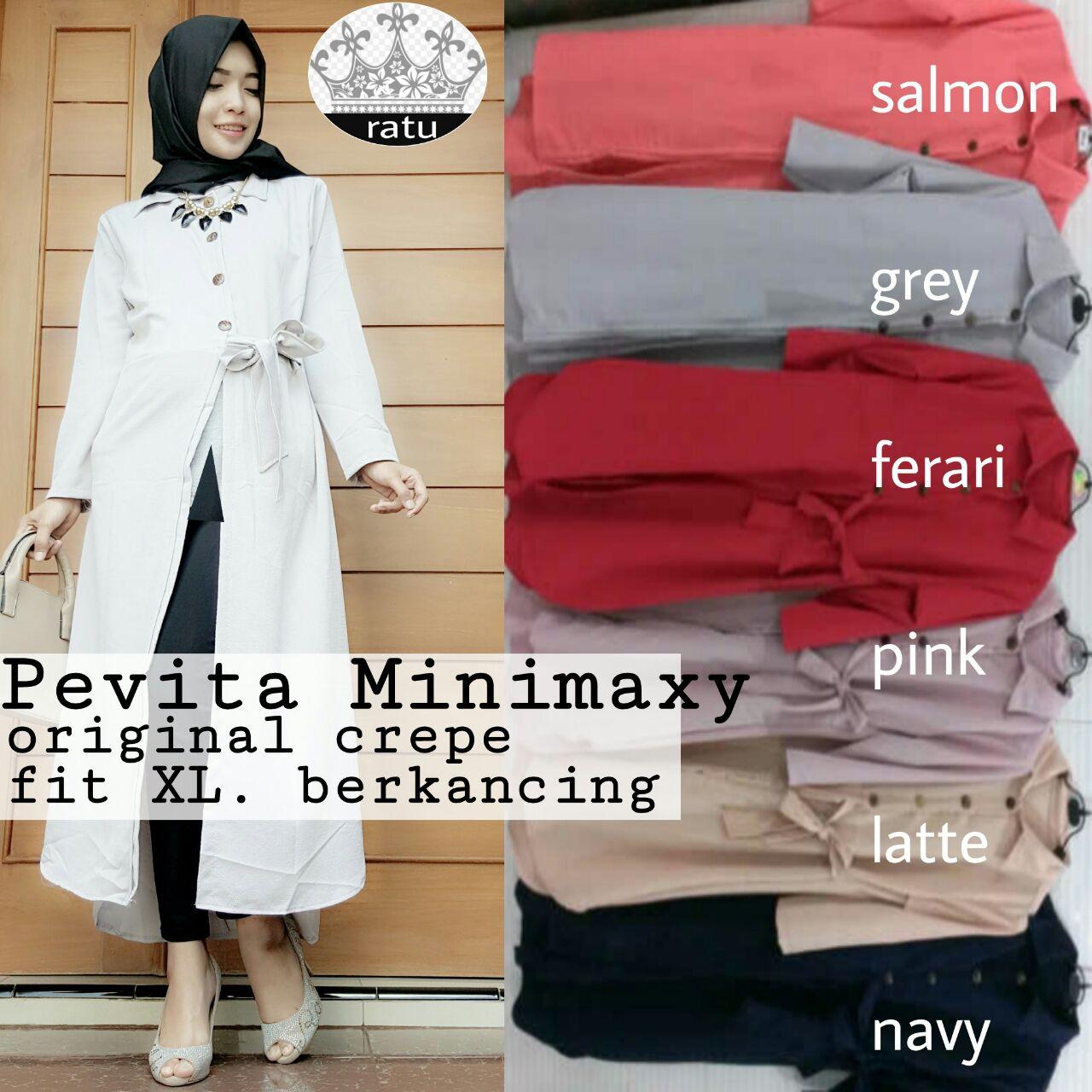 Jual Supplier Hijab Realpict Pevita Minimaxy By Ratu