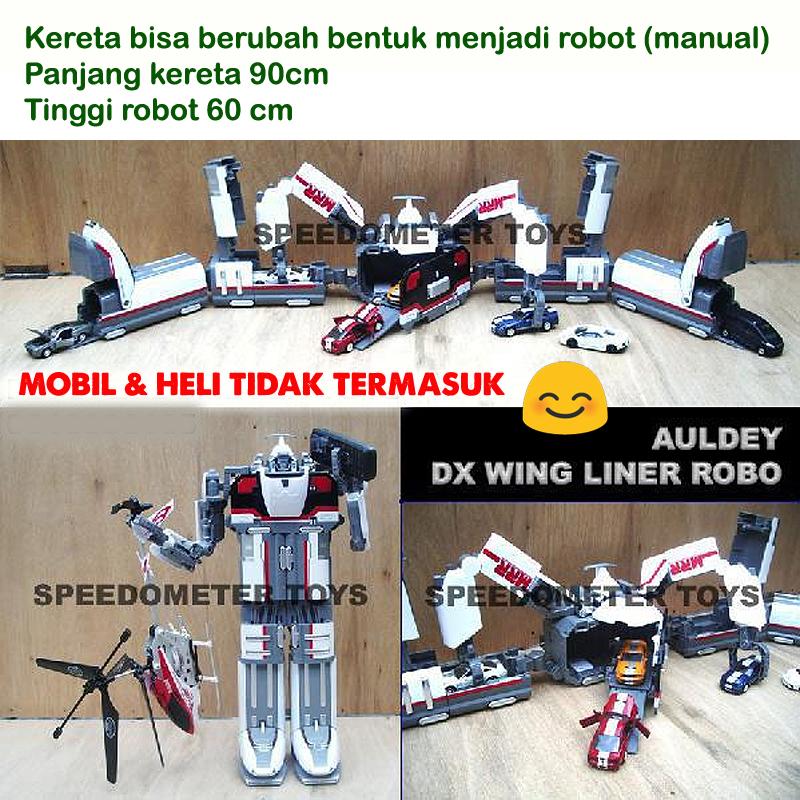 Jual Auldey Bandai Dx Wing Liner Robo Mrr Machine Robot Rescue