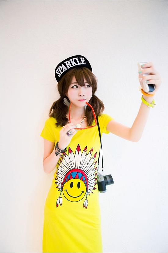 yellow dress - 61189