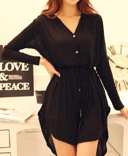 black dress M,L - 771416