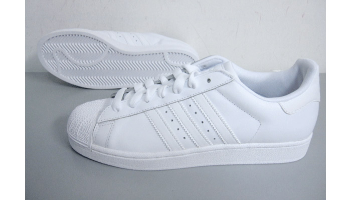 adidas white superstars