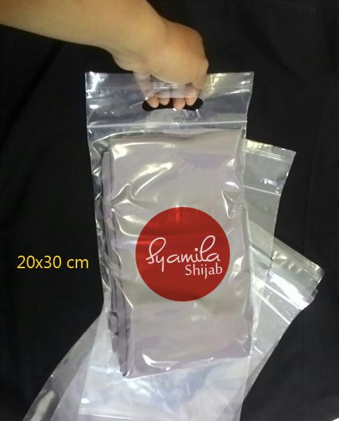 plastik klip ada gantungannya - plastik untuk hijab - plastik jilbab