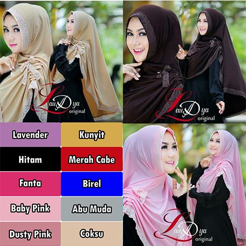khimar / bergo / hijab / jilbab syar'i yolanda