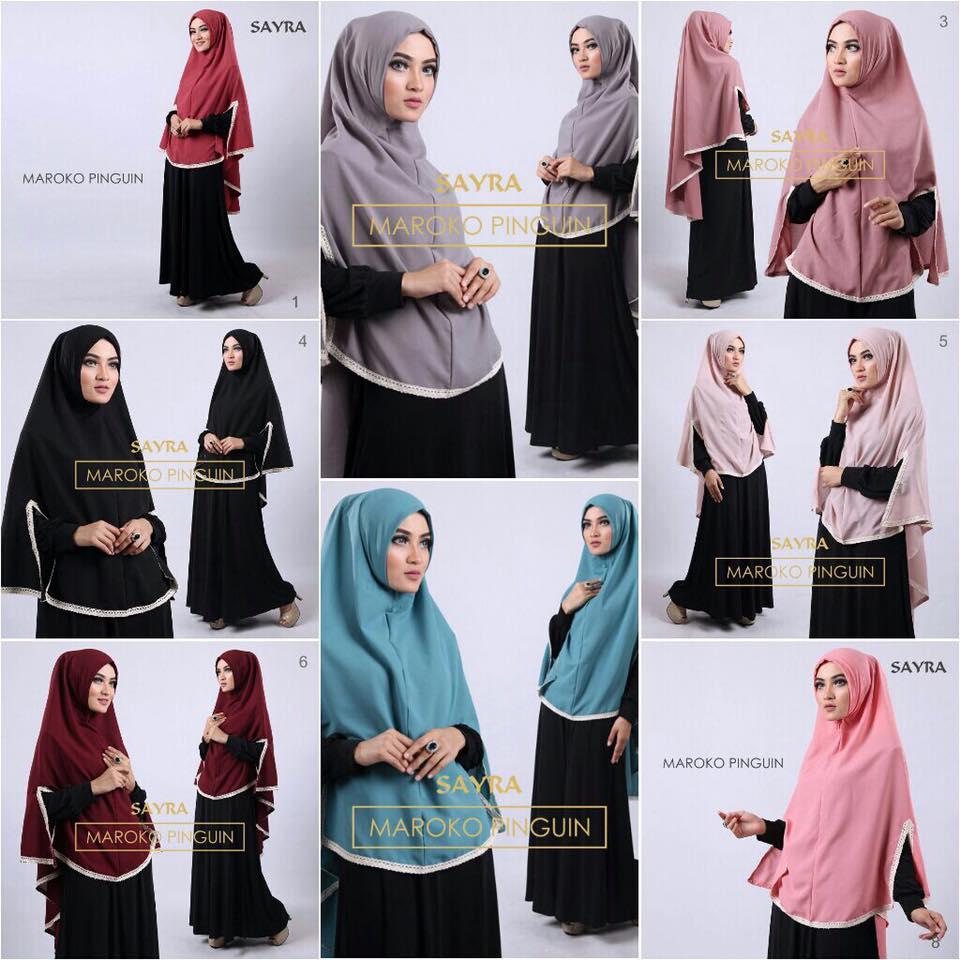 khimar / bergo / hijab / jilbab syari