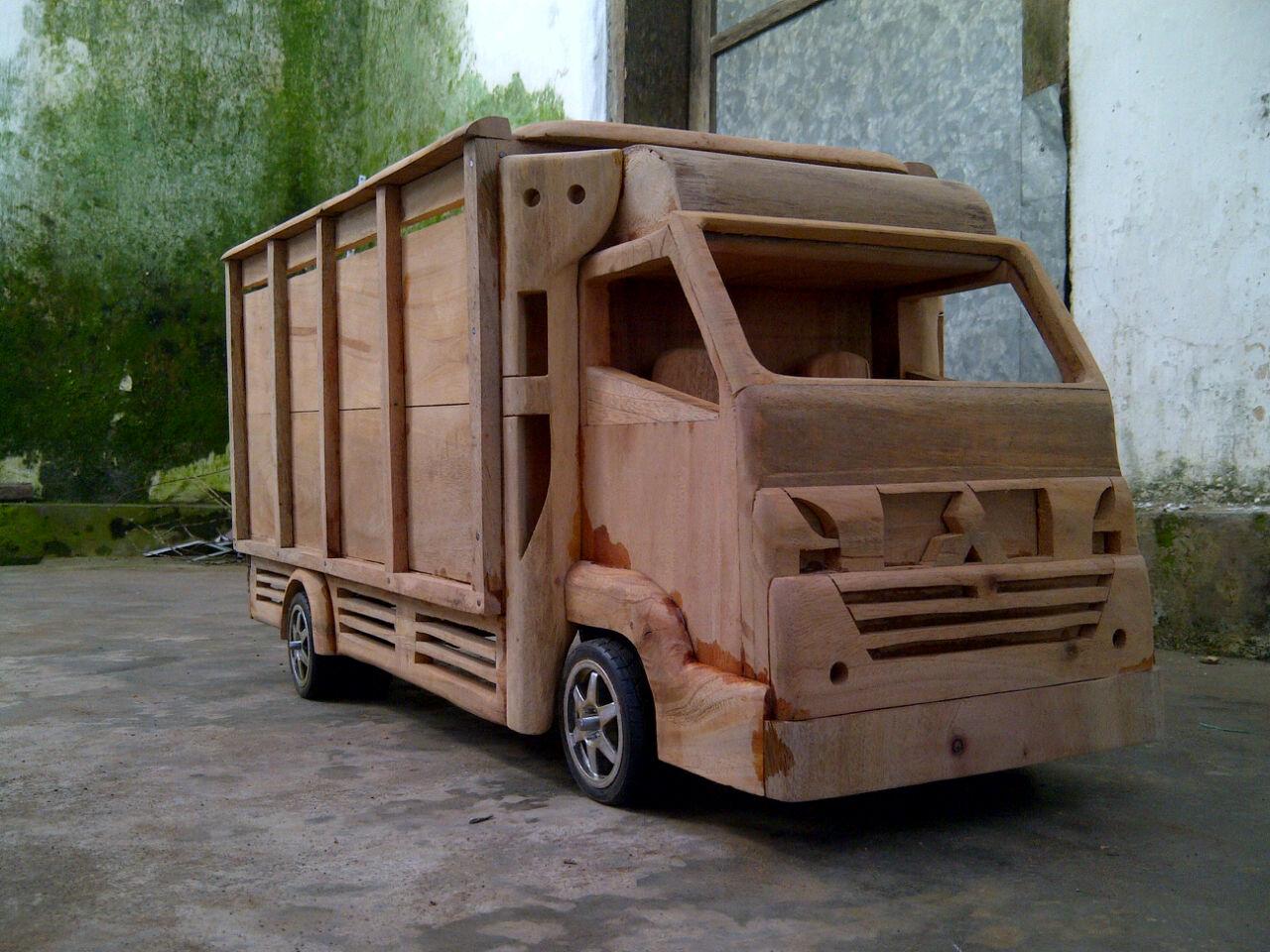 Foto Mobil Mobilan Truk Kayu | Otto Modifikasi