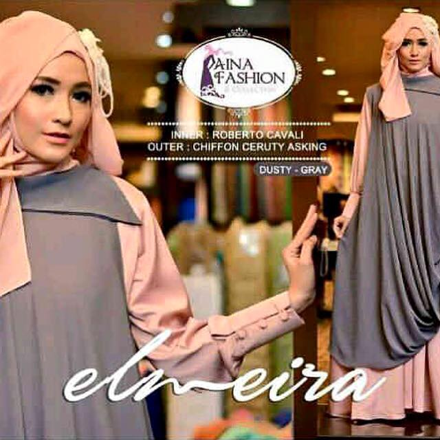 Elmira set / baju syari / setelan hijab / gamis syari / hijab syar'i