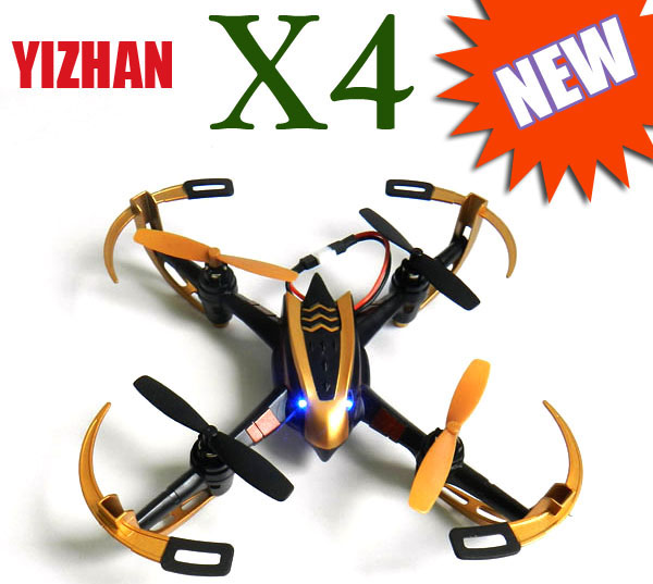YiZhan X4 Tarantula 6 Axis 2.4G RC Quacopter W/ LCD Transmitter RTF