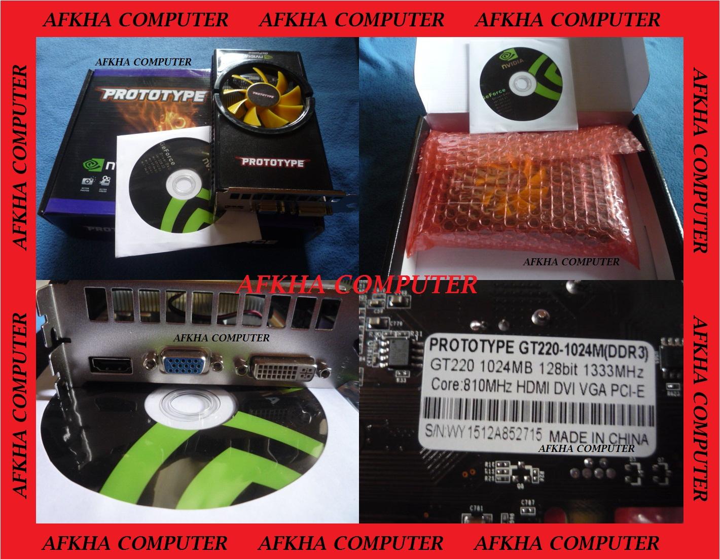 VGA CARD NVIDIA GT220 1GB 128BIT DDR3 murah