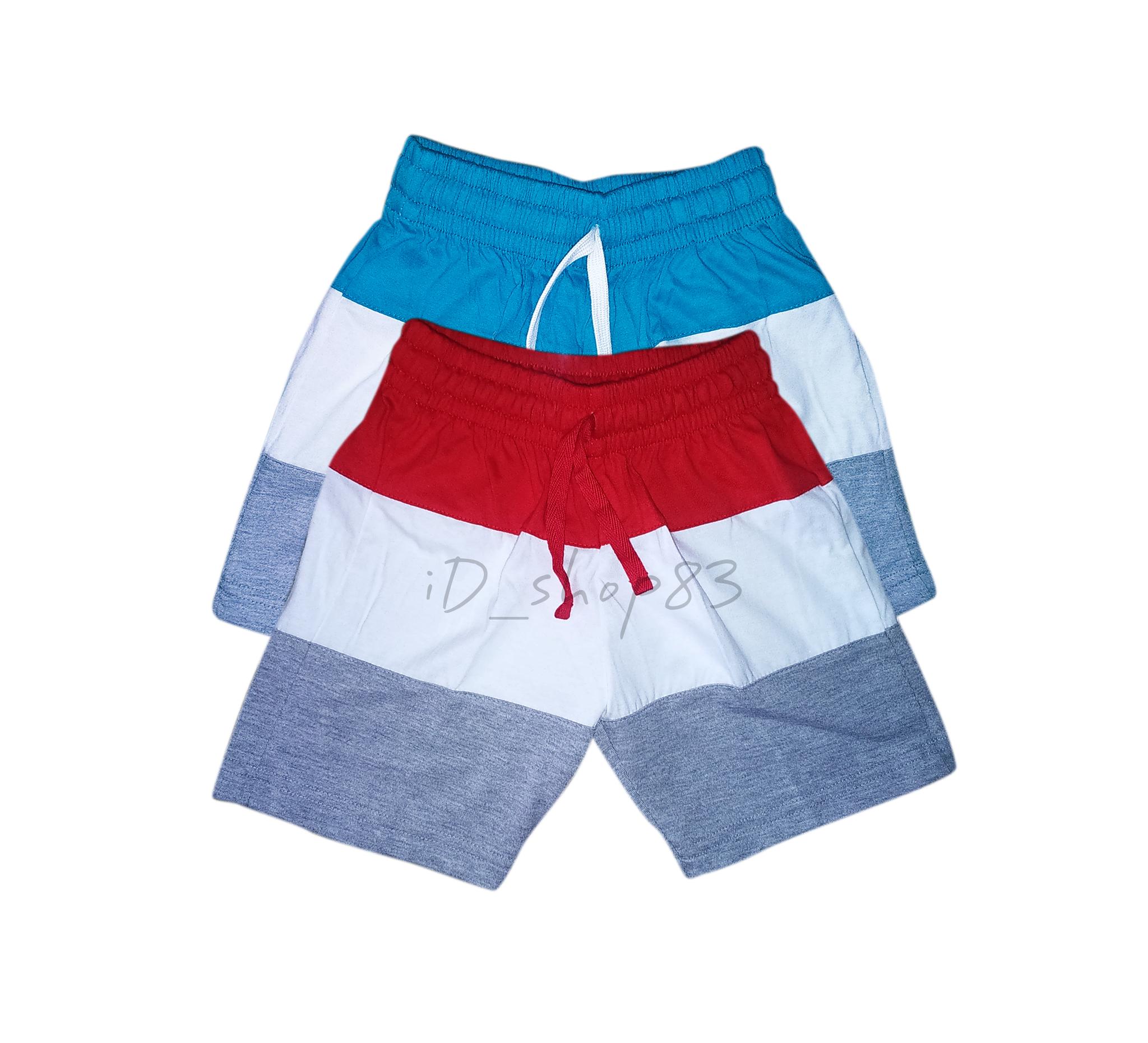 Gudang Fashion New Trendy Celana Pantai Bermotif Modis Hijau Pendek Distro Pria Polyester Multi Colour Cln 736 Jual Anak Kombinasi Warna
