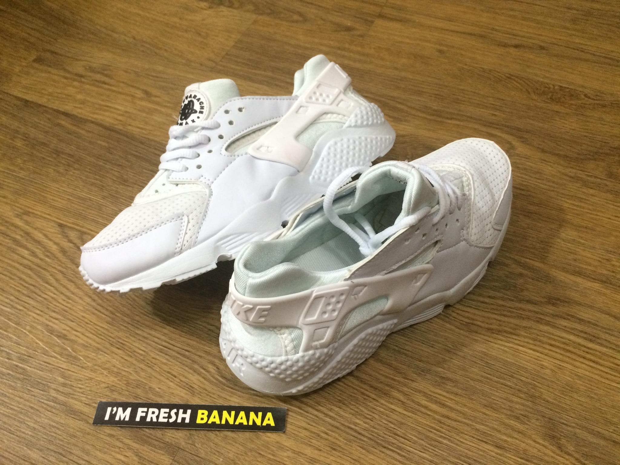 b2178c9c4b68 ... promo code for sepatu nike air huarache run triple full white putih ..  96838 b5558