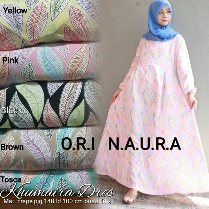 KHUMAIRA DRESS /SUPPLIER BAJU HIJAB HQ
