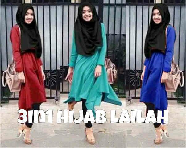 set laila hijab LV