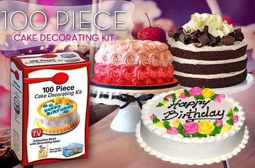 Jual Cake Decorating Kit : Jual 100 Piece Cake Decorating Set Alat Pembuat Penghias Menghias Kue - UNAIR Trade Centre ...