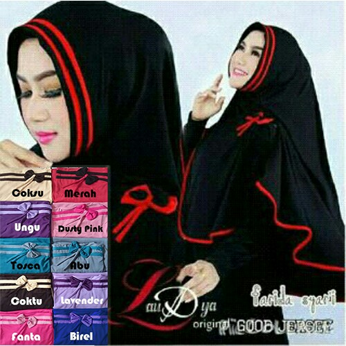 Hijab/Jilbab Khimar Syar'i Farida