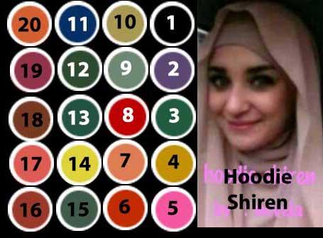 Hijab/Jilbab Hoodie Instan Shireen