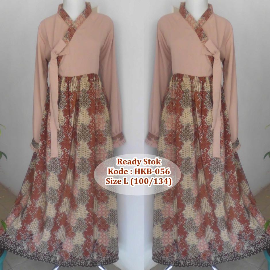 Jual Gamis Hanbok Cantik Keeba Kombinasi Batik Nafiras