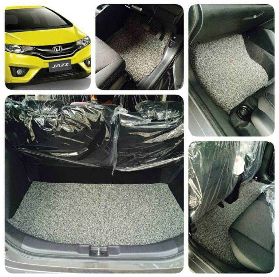 karpet pvc luxury honda jazz full bagasi