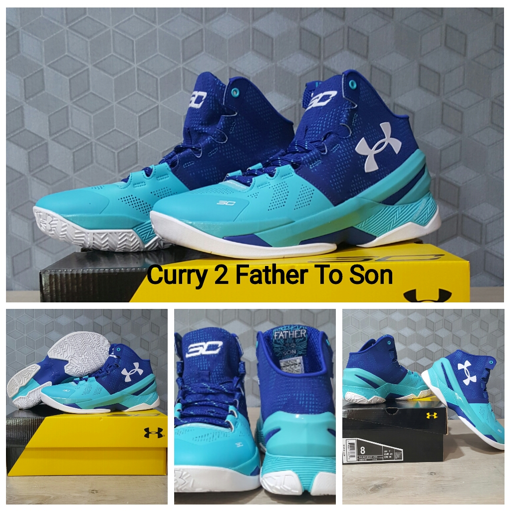 Jual Sepatu Basket Curry 2 Father To Son - Korionz Shop  3e7de6119f