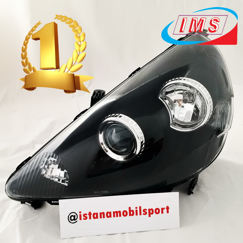 Head Lamp Projector Black Jazz 03-06 Limited Edition
