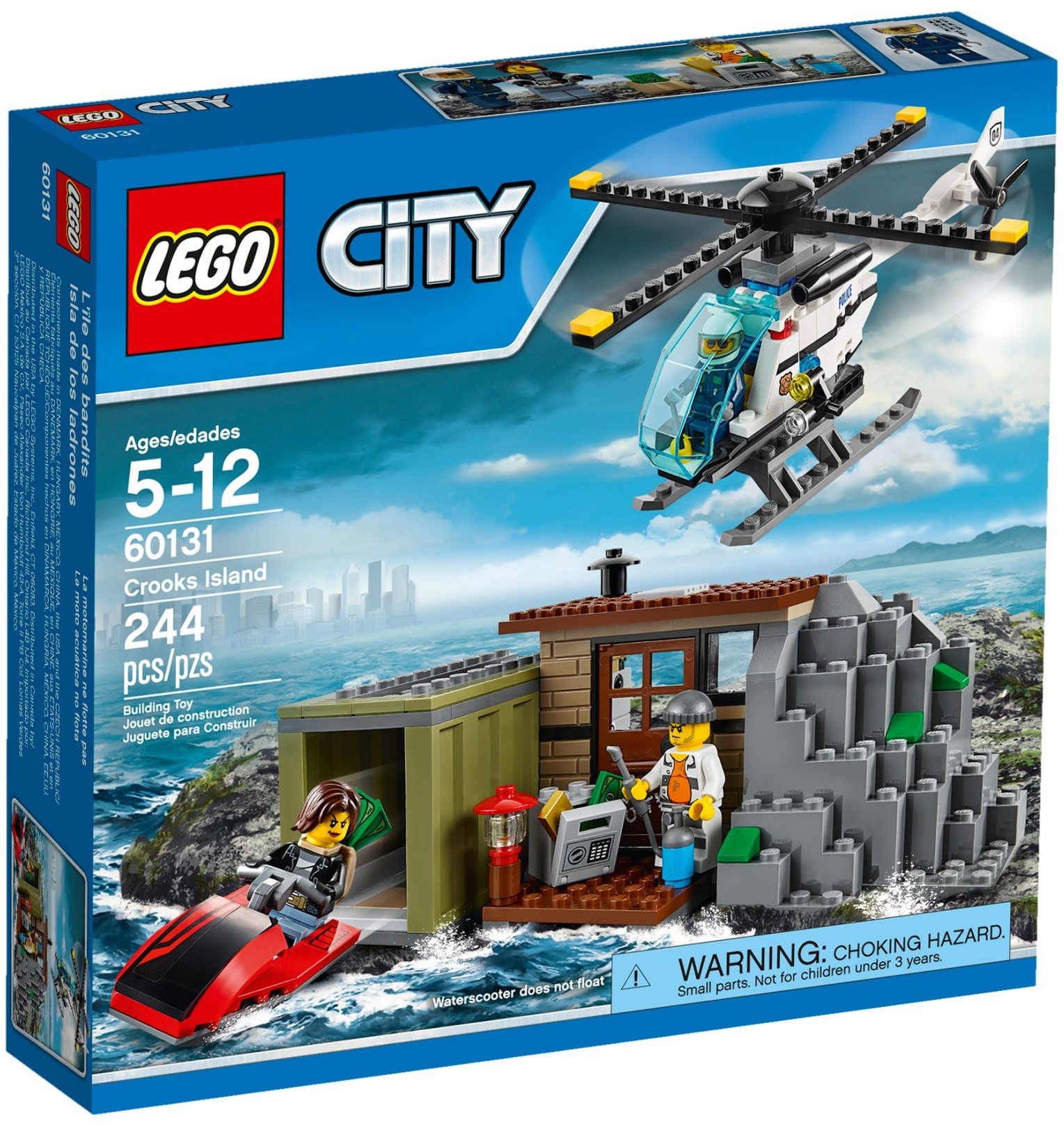 LEGO # 60131 CITY Crooks Island