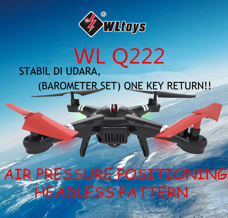 WLTOYS Q222 2.4G 6-AXIS Headless Air Pressure
