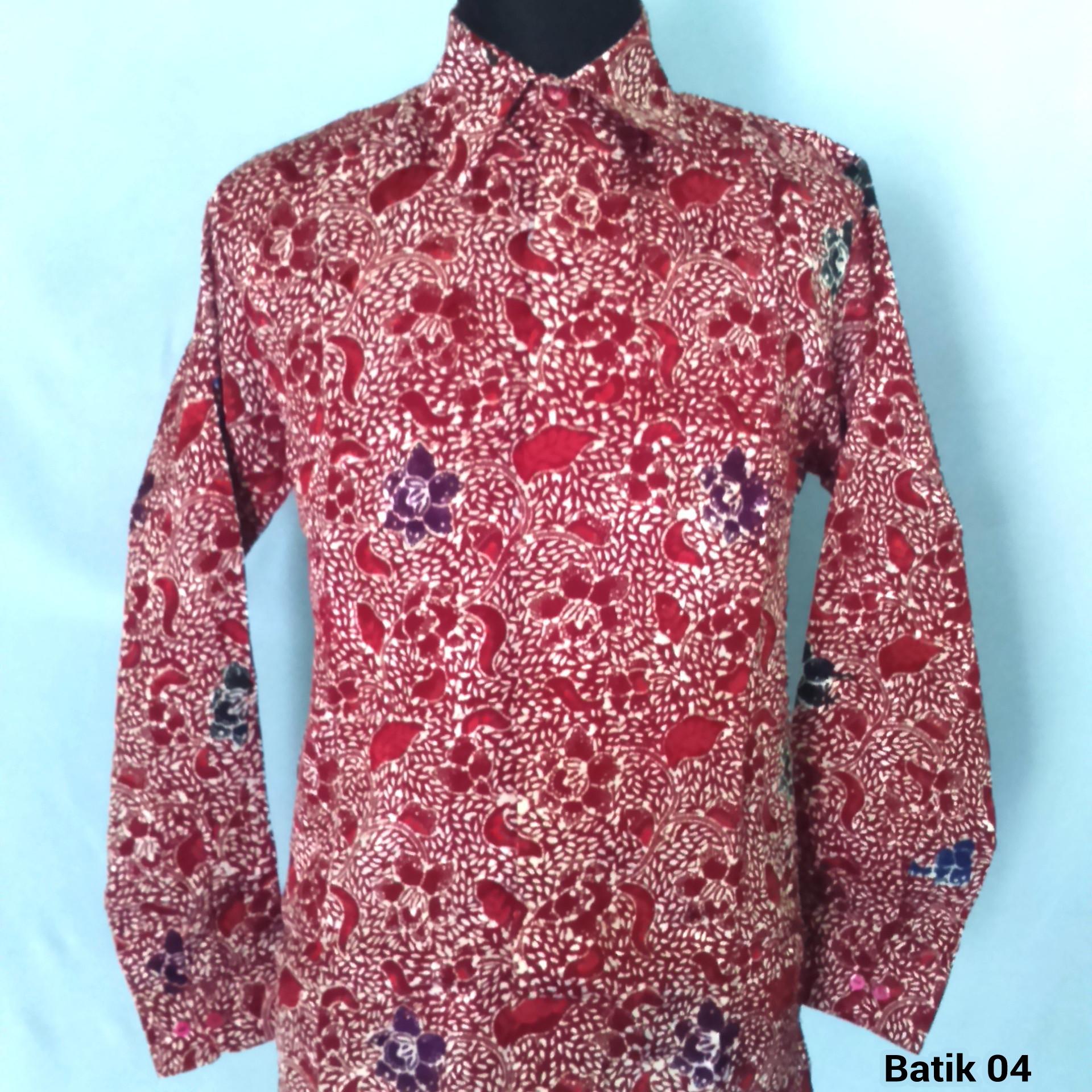 Batik Pekalongan Pria Panjang: Jual Baju Batik Pria Lengan Panjang Tradisional Eksklusif