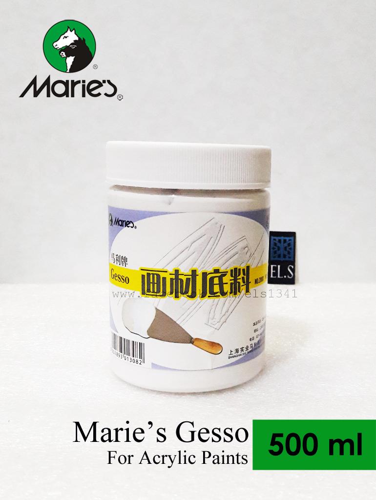 Marie's Gesso Acrylic 500ml