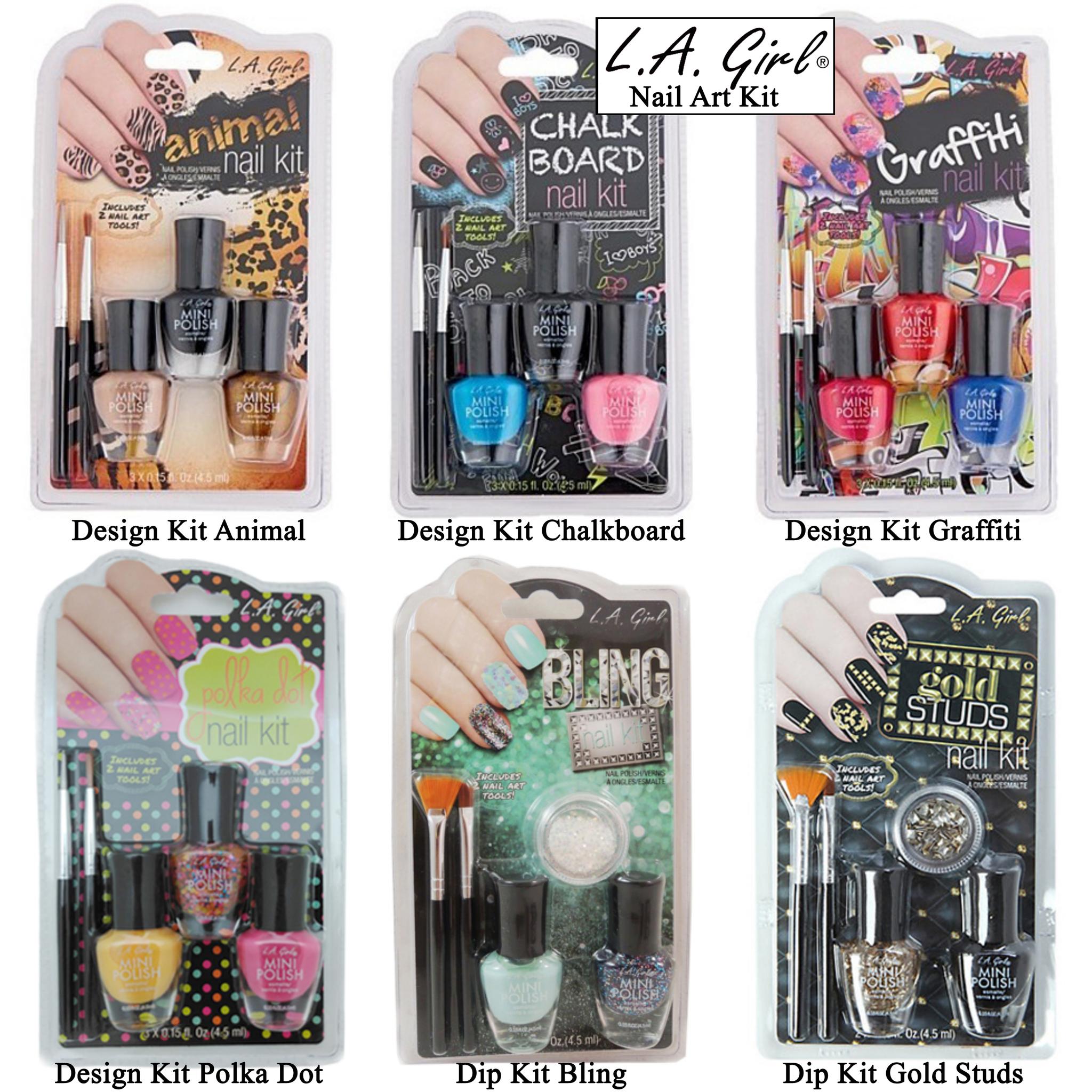 Jual Kutek La Girl Nail Art Kit Termurah Opi Kutek Tokopedia
