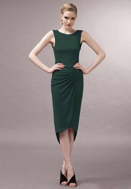 Green dress - 80062