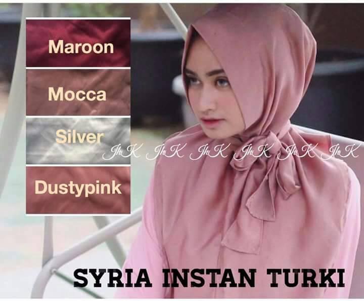 Jilbab/Hijab SYRIA INSTAN TURKI BY JHK